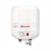 Бойлер 7л, 1.5kW, монтаж над мивка, под налягане - ELDOM 72324NMP