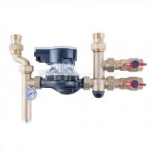 Смесителна група Simple за подово отопление с помпа Wilo Para -  HERZ 3F53234