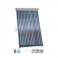 Слънчев Колектор вакуумно-тръбен 2.36м², (120-150л бойлер), изводи Ø22 мед - SUNSYSTEM VTC 15