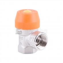 Предпазен мембранен клапан за висока температура, 3.0 бара - G1/2''хG1/2''