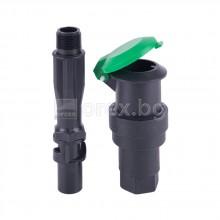 ПП(РР) Градински хидрант за водовземане + ключ 3/4'' външна резба