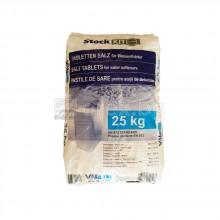 VALROM Таблетирана сол за омекотителна с-ма, 99,5÷99,8% NaCl - торба 25кг