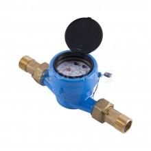 Водомер мокър, 3/4'', студена вода, 5м³/ч, с холендри - БЕЛАСИЦА