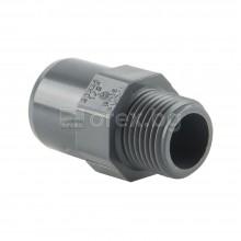 ПВЦ(PVC) Адаптор Ж-М-М Ø20-Ø25-1/2'', PN16