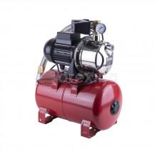 Хидрофорна система M97, 550W, 1'', Hmax=45м, Qmax=3.3м3/ч, 20л съд, корпус неръждаема стомана, пресостат, манометър