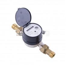 Водомер сух, 1/2'', топла вода, 3м³/ч, с холендри - БЕЛАСИЦА