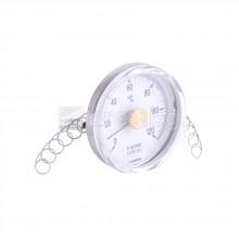 Контактен термометър Ø63мм, 0÷120°C – CEWAL