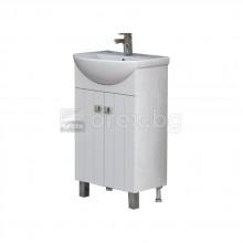 ПВЦ Шкаф за баня - с мивка - модел Хавана
