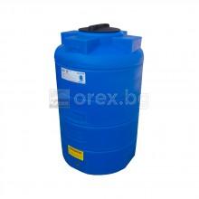 ПЕВП(PEHD) Резервоар за вода 500л, цилиндричен, вертикален, отвор Ø310мм