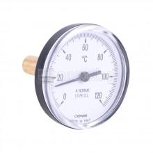 Потопяем термометър Ø63мм, 0÷120°C – CEWAL