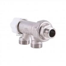 Термостатен вентил за еднотръбна система - 24х19 х 1/2''М - LUXOR MT282