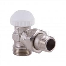 Термостатен вентил, ъглов, G1/2''xG3/4'' - HERZ TS-90 1772437