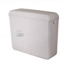 Тоалетно казанче 3/8'' - 8л - ниско присъединяване - САНИТАПЛАСТ