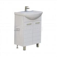 ПВЦ Шкаф за баня - с мивка - модел Корнер