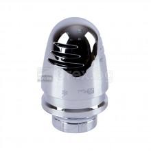 Термостатна глава хром, 5÷30°C, М28х1.5 – HERZ DESIGN MINI DELUXE S92003