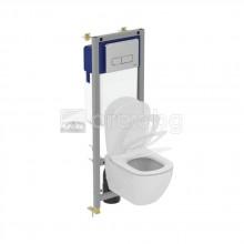 WC Комплект за вграждане IDEAL STANDARD TESI AquaBlade