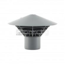 ПП(PP) Вентилационна шапка Ø50