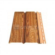 ПВЦ(PVC) Панел за стреха 3м, Златен дъб - DEVOREX Soffit