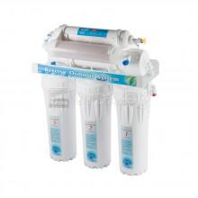 6 степенна система за пречистване на вода чрез обратна осмоза