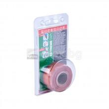 Самовулканизираща лента за течове от -65°C до +260°C - до 3/6bar вода/въздух - UV защита - 3м/24,5мм - FACOT