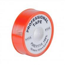 Тефлонова лента за професионална употреба - 15м/19мм/0.2мм - червена - FACOT