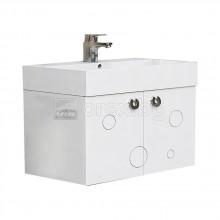 ПВЦ Шкаф за баня - с мивка - модел Мио