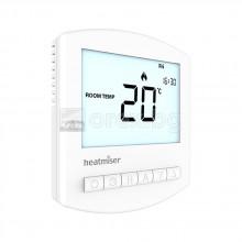 Електронен термостат с LCD дисплей, 5÷35°C, 230V - HEATMISER SLIMLINE v3