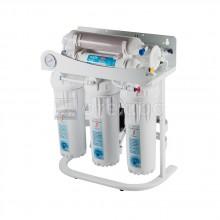 6 степенна система за пречистване на вода чрез обратна осмоза, самопочистваща, помпа
