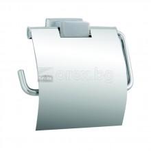 Поставка за тоалетна хартия с капак - МОМО1 Евкалипт
