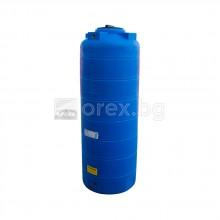 ПЕВП(PEHD) Резервоар за вода 1000л, цилиндричен, вертикален, отвор Ø310мм