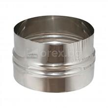 Редуктивна муфа за алуминиев въздуховод Ø100xØ110
