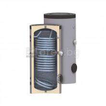 Подов бойлер SUNSYSTEM SОN - 150л, 2 серпентини, к-кт за монтаж SK - с нагревател 3kW