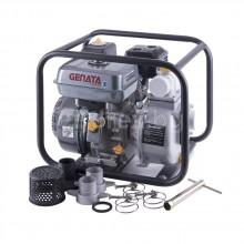 "Бензинова водна помпа GENATA GT301 - Ø32/1"", 196м³/см, 10м³/ч(макс), 20м(макс)"