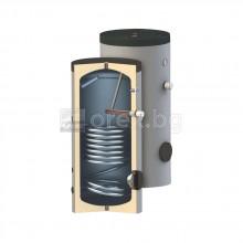 Подов бойлер SUNSYSTEM SN - 150л, 1 серпентина, к-кт за монтаж SK - с нагревател 3kW