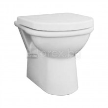 Стояща тоалетна чиния долепена до стена универсално оттичане, FAYANS Terma Nova - 8.2109.2.000.000.1