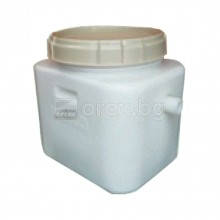 ПЕВП(PEHD) Мазниноуловител 0.5л/с, вход/изход Ø50мм, капак Ø368мм - PIPELIFE Fatbox GNS 0.5 Neo