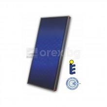 Слънчев Колектор селективен 2м², цял алуминиев абсорбер, изводи Ø22 мед - SUNSYSTEM PK Select FP