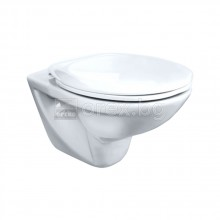 Стенна тоалетна чиния с хоризонтално оттичане без тоалетна седалка, FAYANS Neo - 8.2357.0.000.000.1