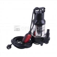 Дренажна помпа с режещ нож 900W, 20м кабел, ел. поплавък, макс. 10м - ВТ4877 К