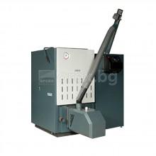 Пелетен комплект BOSCH PELLET SYSTEM 24kW - котел Solid 2000B, горелка Brenn, шнек, бункер 190л